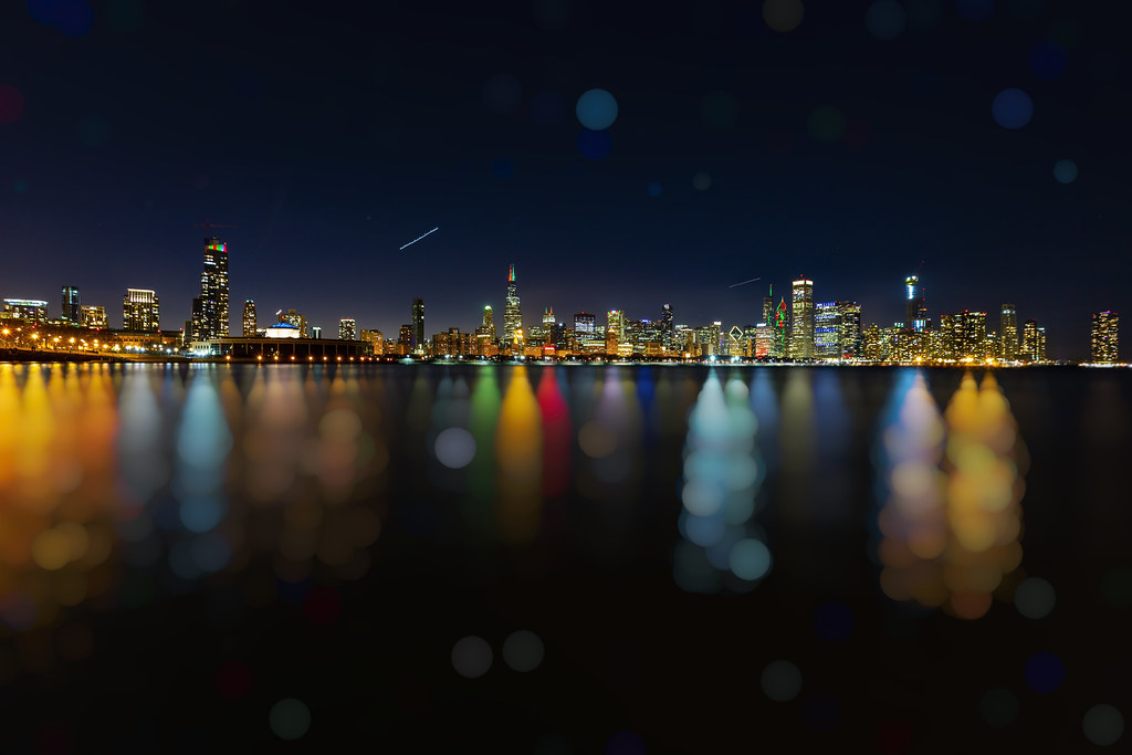 Christmas In Chicago Skyline.Holiday Floater Download Photo Tomato To Search Engine