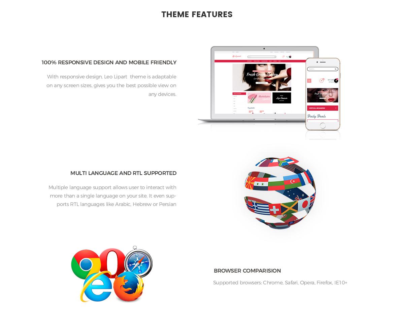 Prestashop 1.7 theme features-Leo Lipart - Cosmetics and Beauty Prestashop Theme