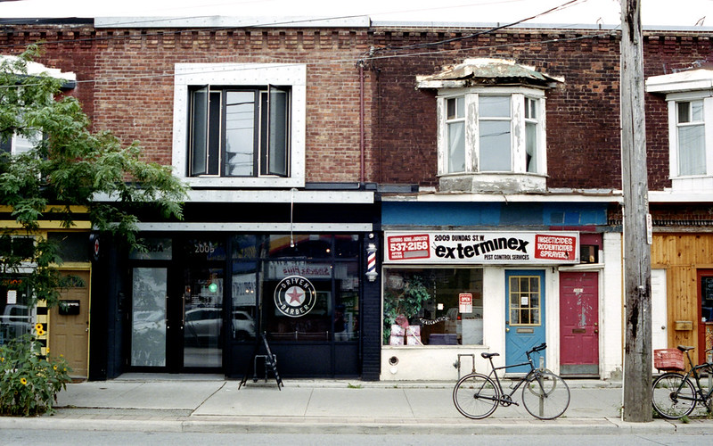 Dundas West Storefronts_