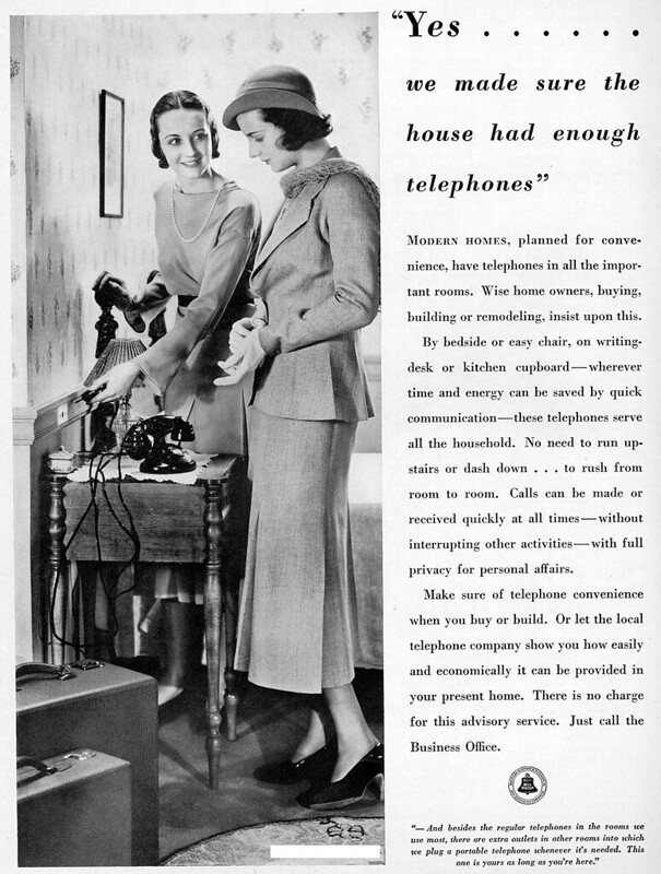 Bell Telephone System 1932