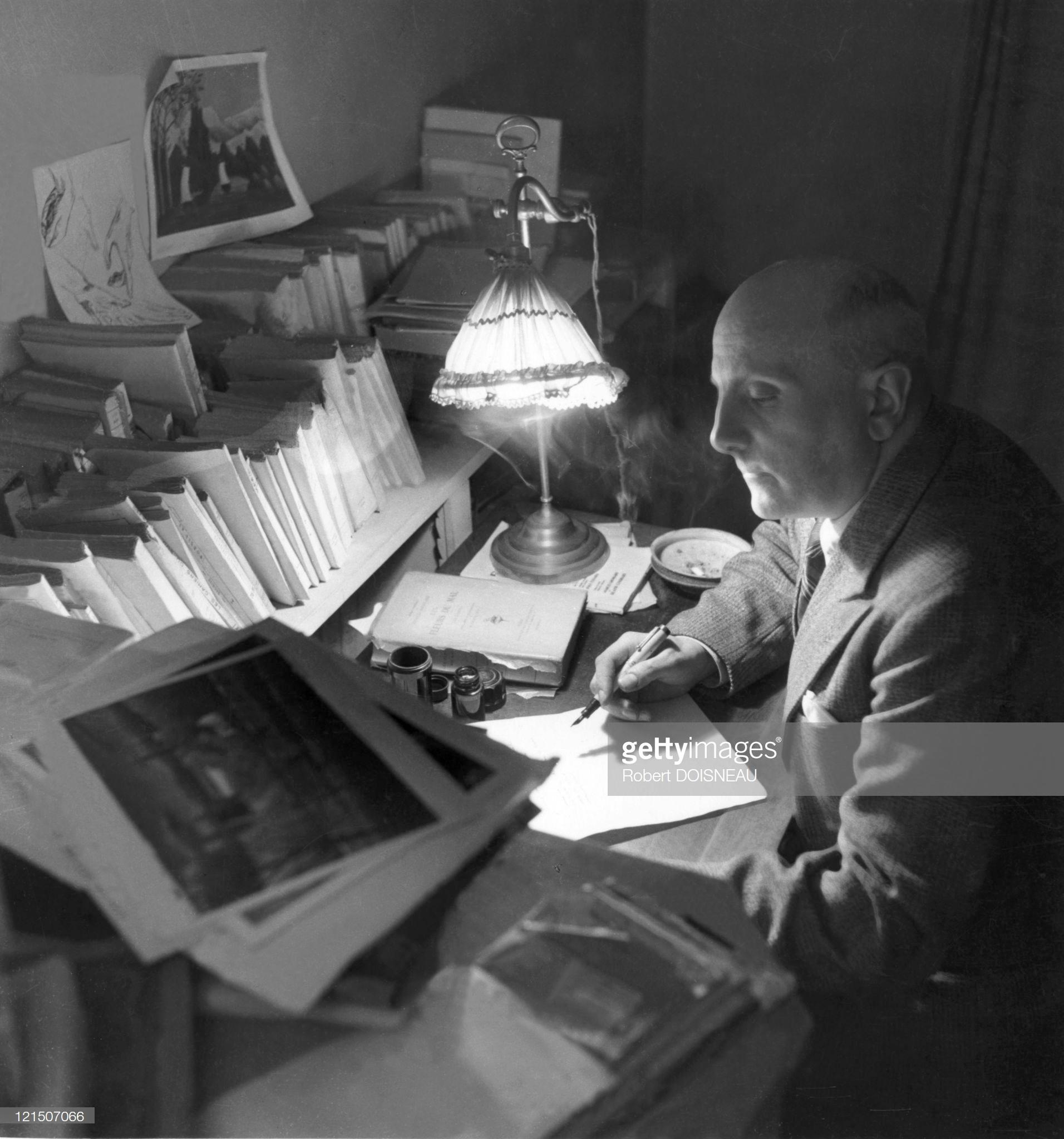 1944. Жан Тардьё — французский поэт, драматург, эссеист, переводчик. Один из зачинателей театра абсурда