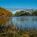 Henry Hudson Bridge over the Harlem River, Manhattan-Bronx, New York City by jag9889