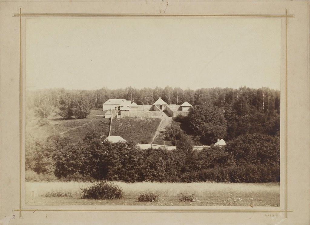 1903. Михайловское. Псарня