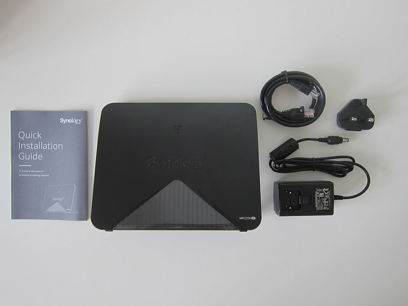 Synology Mesh Router MR2200ac - Box Contents