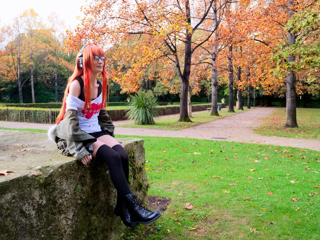 related image - Shooting Persona 5 - Futaba Sakura - Jardin de la Magalone -2018-11-10- P1388473