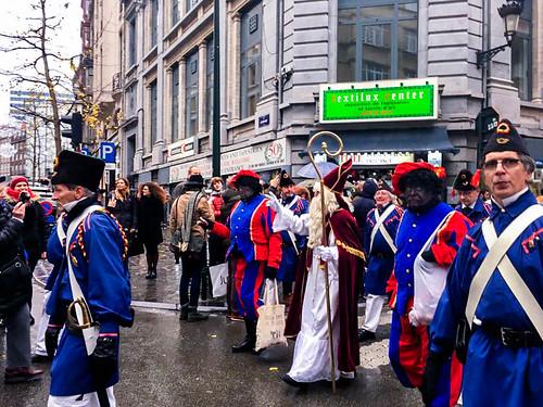 Sinterklaas en Bruselas