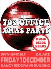 70s XMAS PARTY