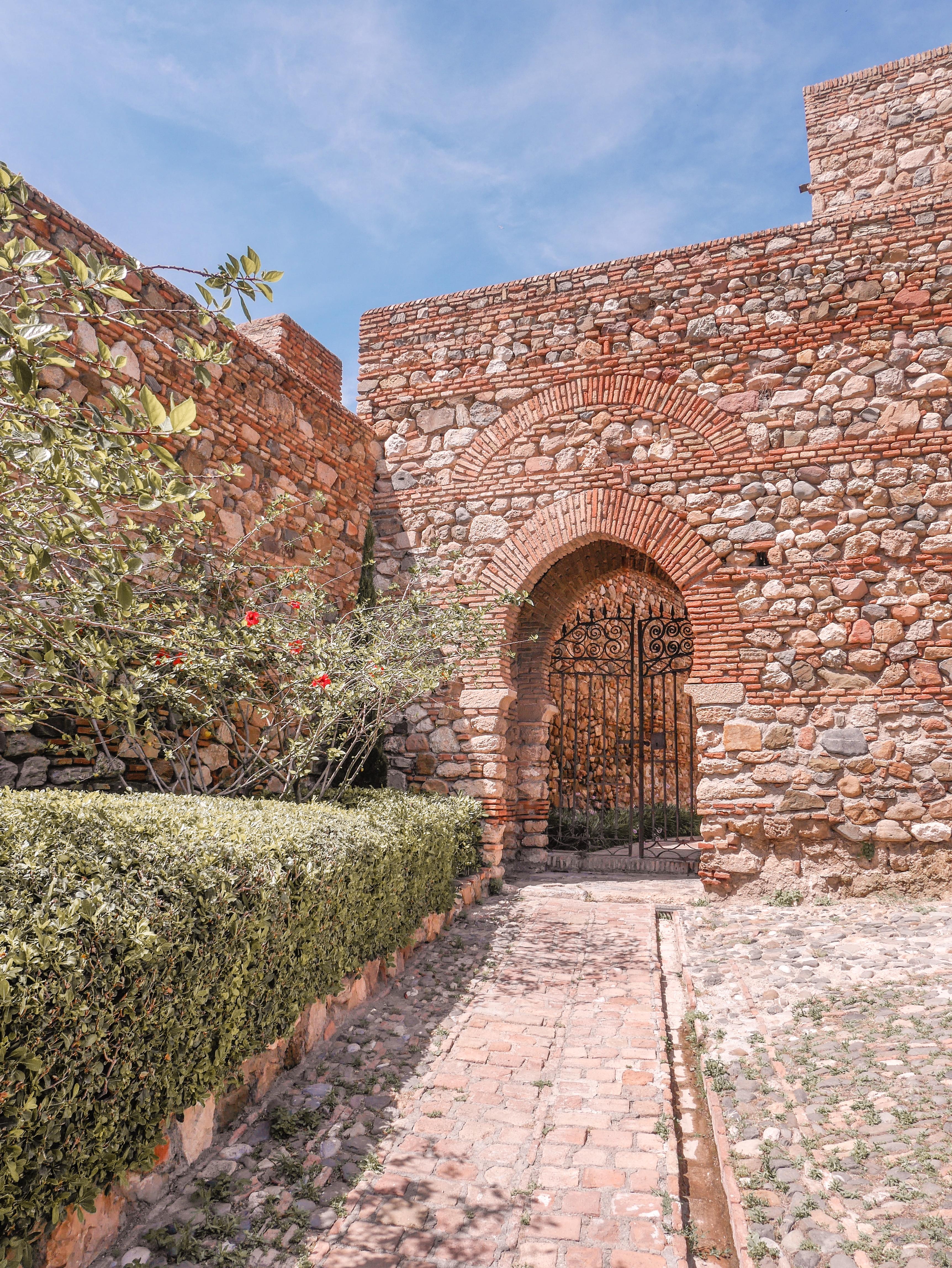 Alcazaba sisäänpääsy