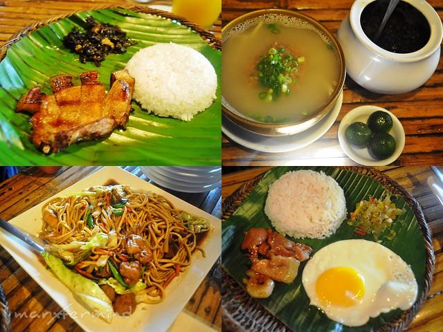 Bed & Dine Food