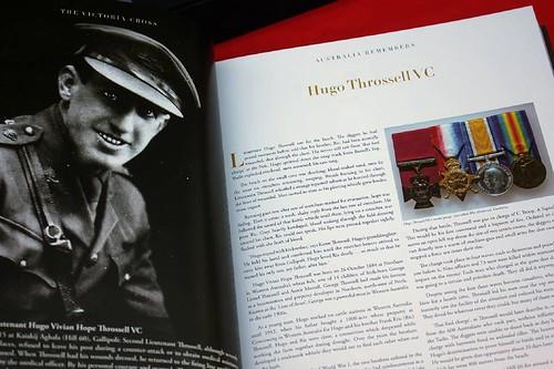 Victoria Cross Australia Remembers Hugo Throssell page