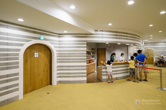 Lobby space of Mosaic Tile Museum, Tajimi (多治見市モザイクタイルミュージアム)