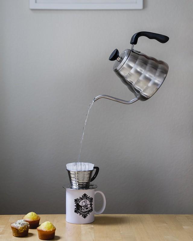 Kỹ thuật rót nước khi PourOver