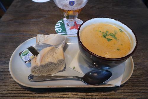 Bouillabaisse 'T Goude Hooft = Gebundene Fischsuppe