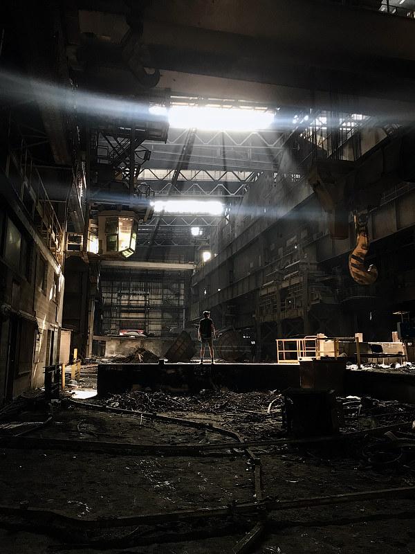 Заброшенные заводы Бельгии, часть первая
