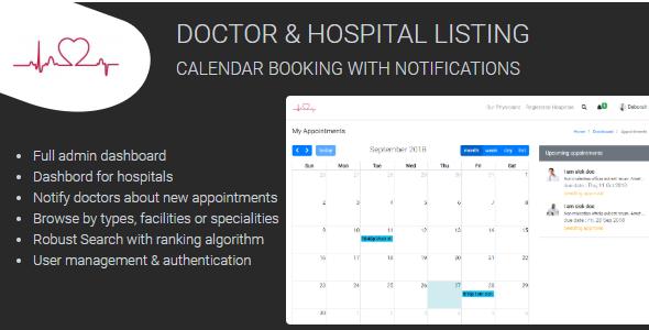 Medixa – Doctor/ Hospital Listing with Booking - Crack Station