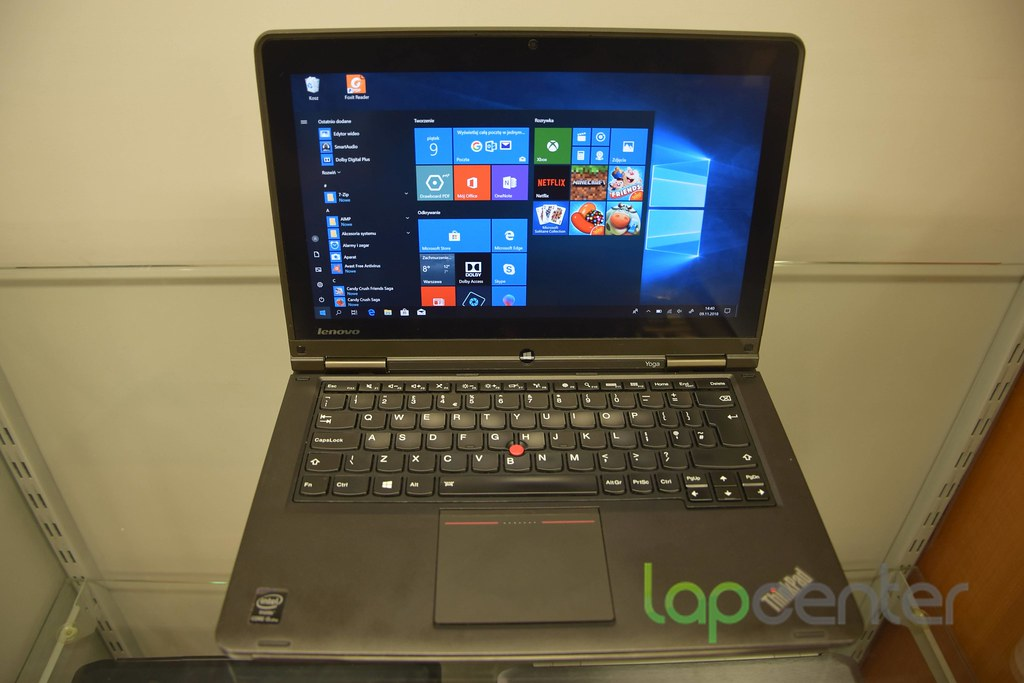 Lenovo ThinkPad YOGA S1 8GB RAM 128 GB SSD 1920x1080 Win10Pro