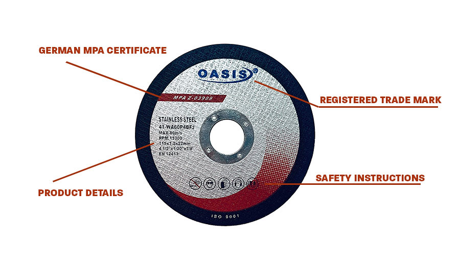 """10 PC 4-1//2/"""" X 1//4/"""" X 7//8/"""" METAL Grinding Wheel For ELECTRIC /& AIR ANGLE GRINDER"""