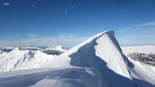 Shadow of the mountain spirit