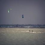 Kite surfing - Baltic Sea - 9. Februar 2019 - Fehmarn - Schleswig-Holstein - Deutschland
