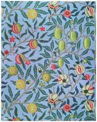 Fruit or Pomegranate by William Morris (1834-1896). Original from The MET Museum. Digitally enhanced by rawpixel.