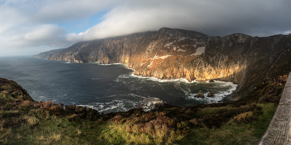 Slieve League Sunset, Donegal, Ireland picture