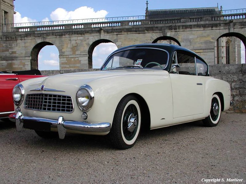 Figoni & Falaschi Simca Sport 9 Coupe. 1954