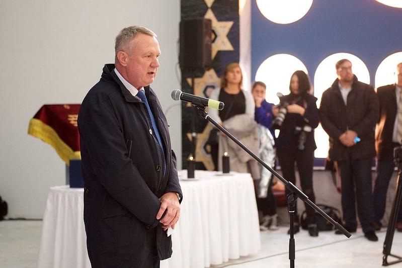 Церемония открытия Новой калининградской синагоги
