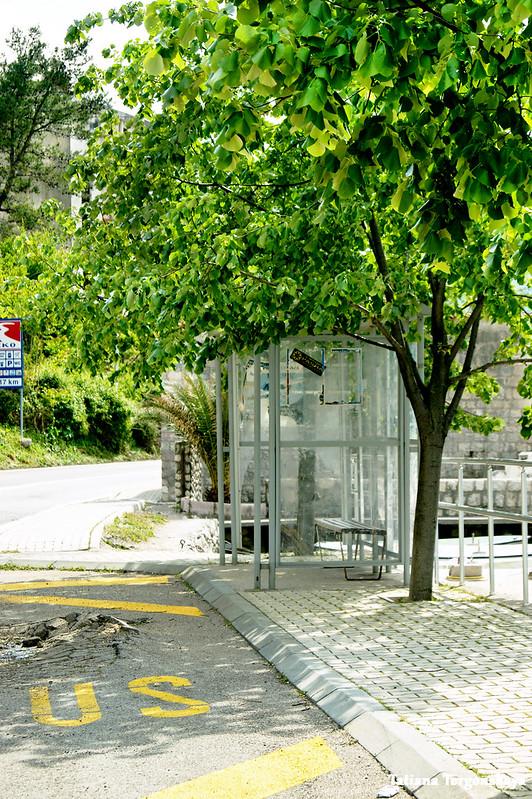 Остановка общественного транспорта в Рисане