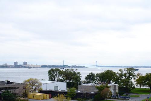 Governors Island and Verrazzano-Narrows Bridge