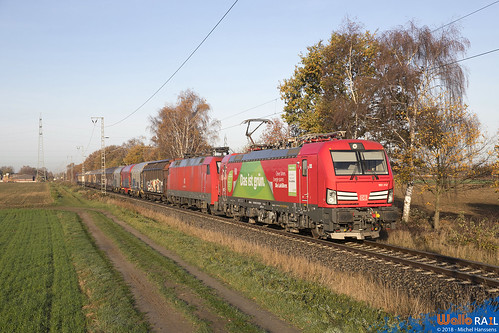 193 312+152 029 DB Cargo . Dülken . 14.11.18.