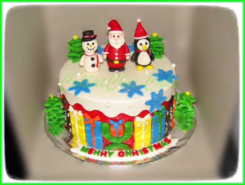 Cake Natal 15 cm