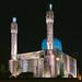 Mosque at night, St. Petersburg (Russia) #96, 07-2018, (Vlad Meytin, vladsm.com)