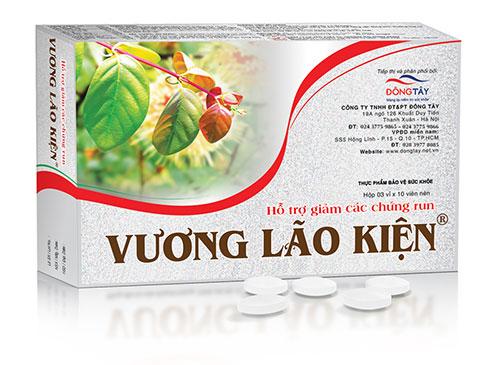 Vuong Lao Kien lam giam run chan tay