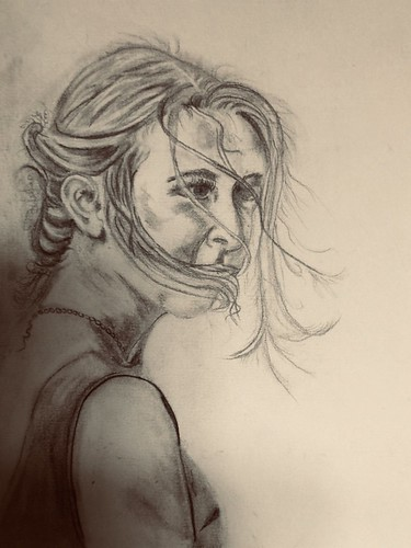 Lysa ! pencil sketch