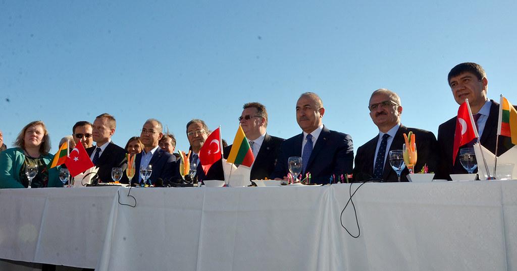 Litvanya Alanya Fahri Konsololuğu'na iki bakanlı açılış