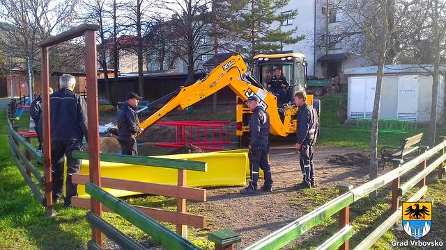 Obnovljena dječja igrališta na području Grada Vrbovskog, 10.12.2018. godine