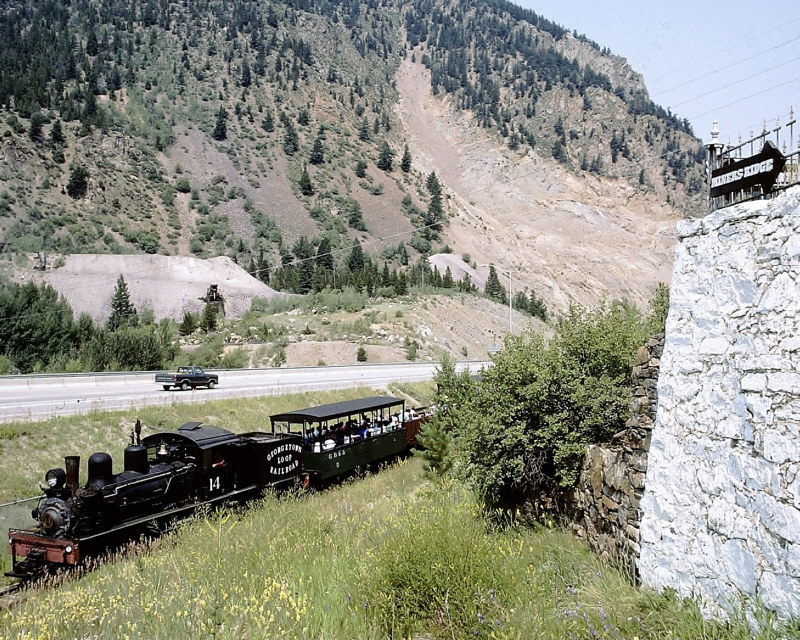 Silver Plume Co >> Glr 14 Lima Shay Silver Plume Co Passing The Miners R
