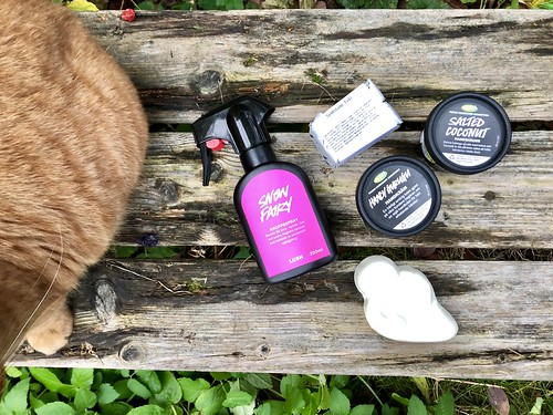 lush treats for hands and body, nov 2018