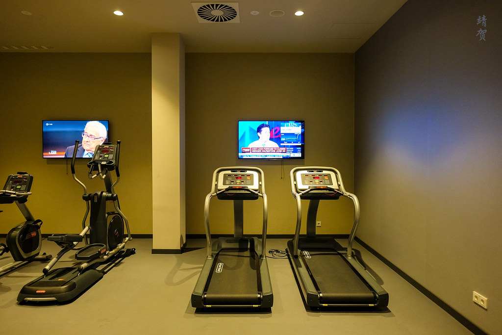 Treadmills in the fitness centre
