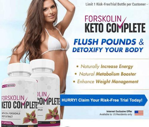 Forskolin keto complete diet