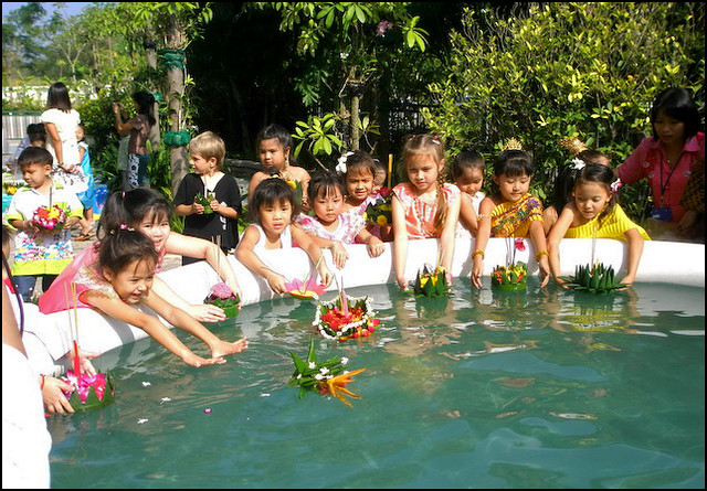 Loy Krathong at School
