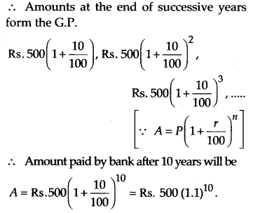 NCERT Solutions for Class 11 Maths Chapter 9 Sequences and Series 70