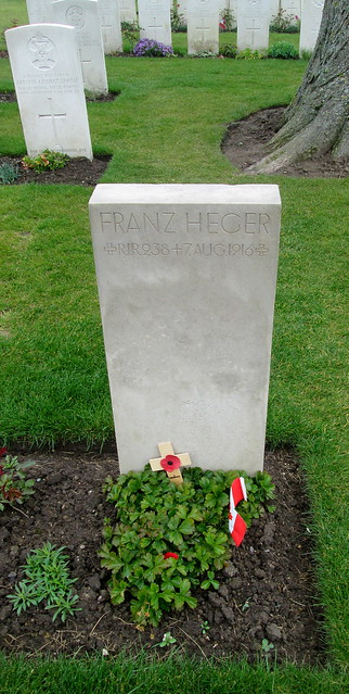 German Grave, Essex Farm Cemetery, Ypres