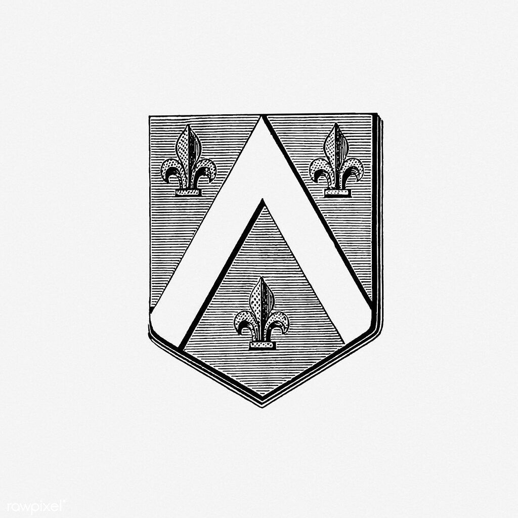 Medieval shield design | Free download under CC Attribution