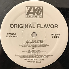 ORIGINAL FLAVOR:CAN I GET OPEN(LABEL SIDE-B)