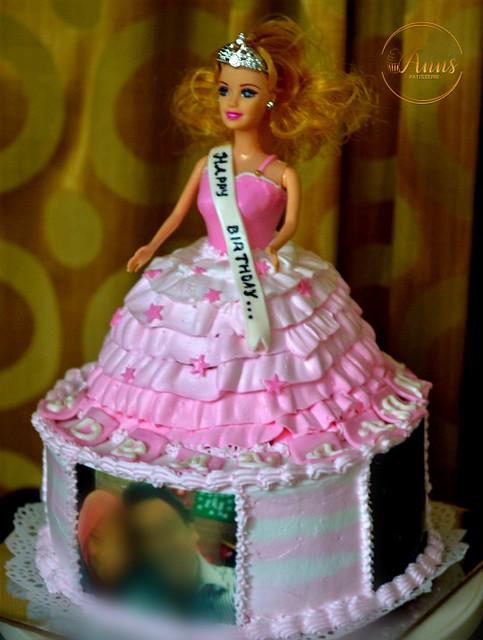Barbie Doll Cake by Ann Vijo of Ann's Patisserie
