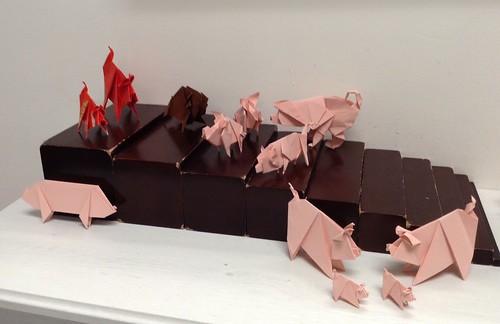 Models Display - pigs & boar