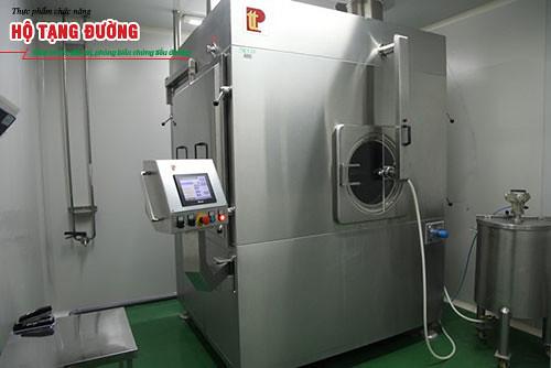 Hệ thống máy bao phim TPCN tại Hồng Bàng.