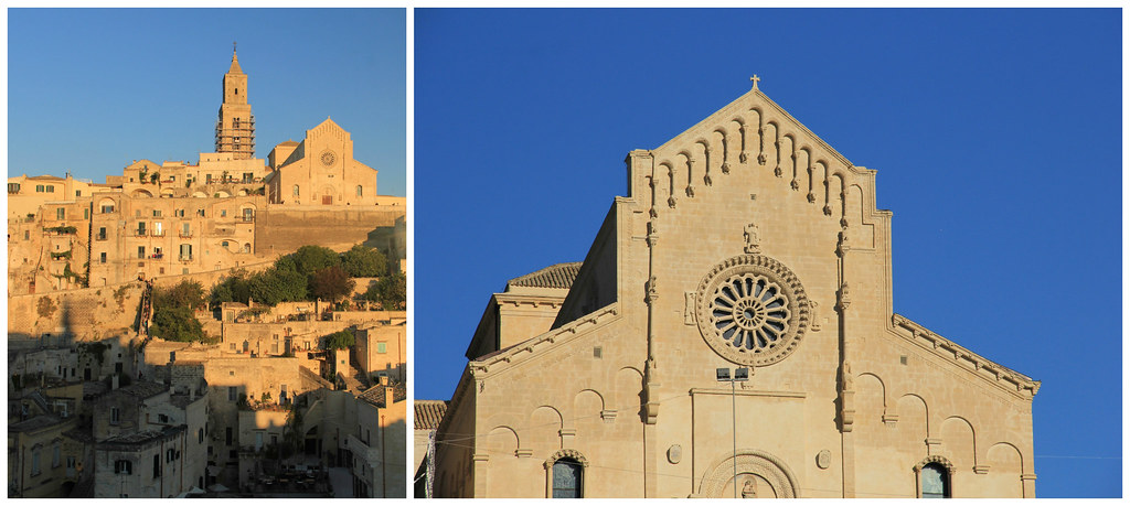 Views of the cathedral from Hotel Sassi