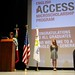 The Consul General spoke at the Access Guadalajara combined graduation & launch ceremony